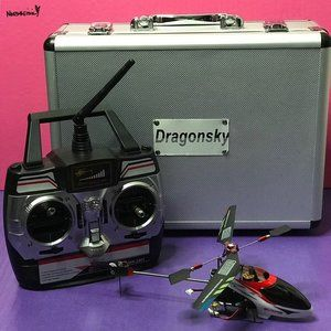 RC 4-Channel Helicopter With Steel Case